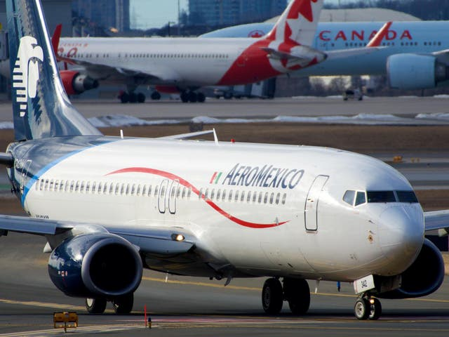 <p>The Aeromexico pilot asked to fly over the city at 4,000ft</p>
