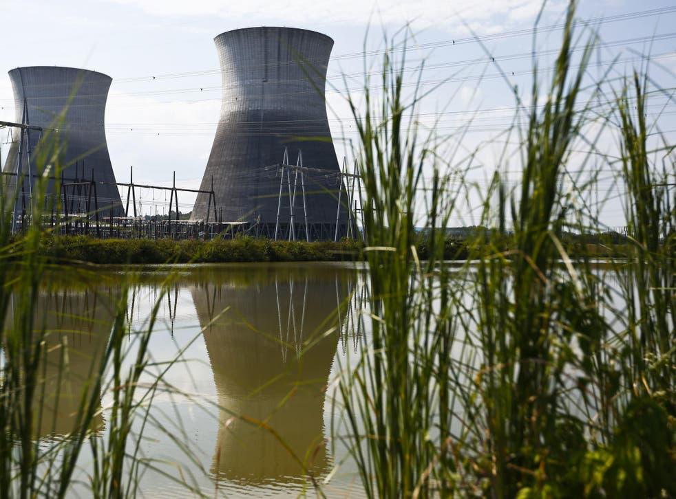Bellefonte Nuclear Power Plant in northeastern Alabama