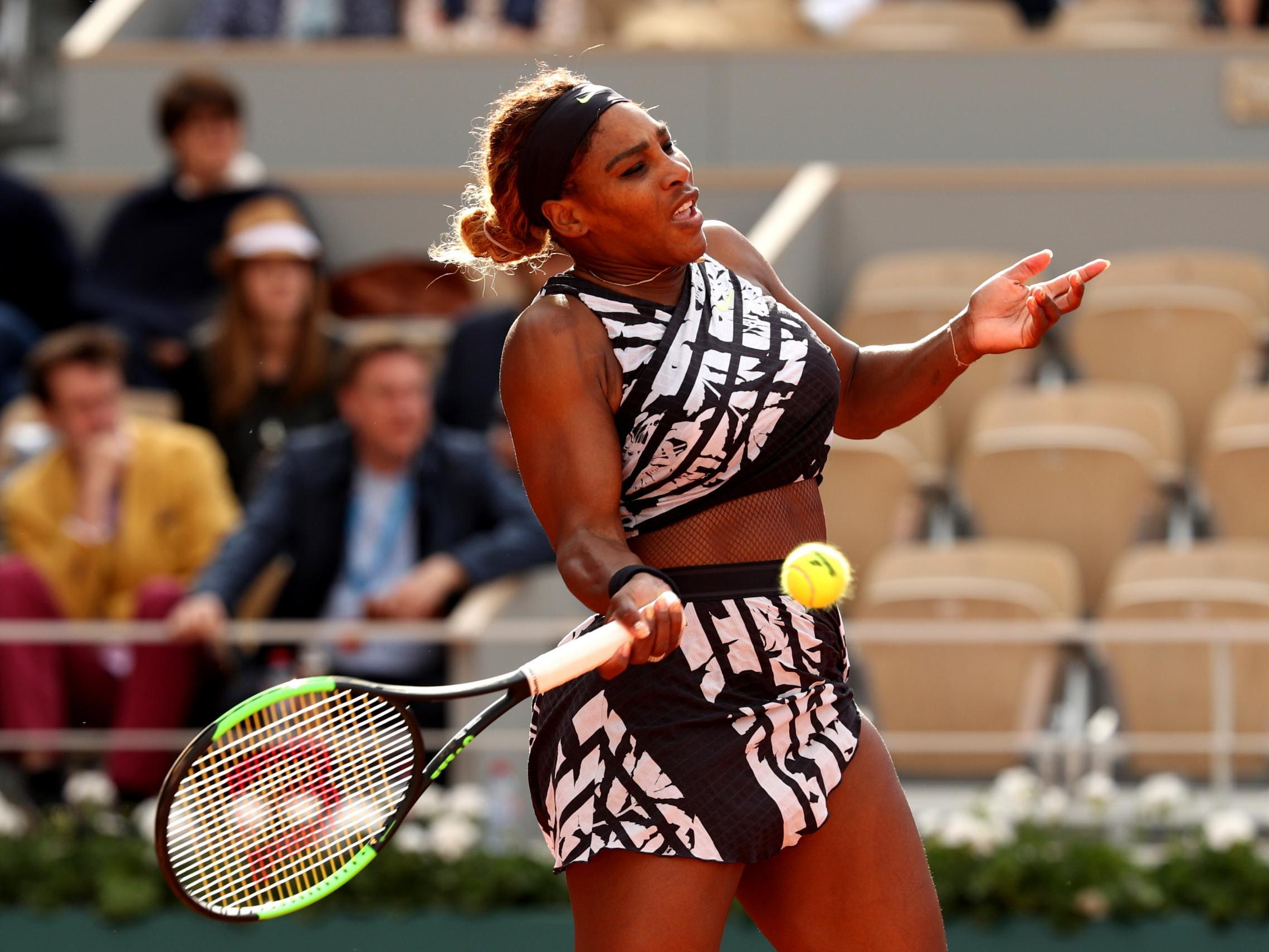 French Open 2019: Serena Williams wears Nike outfit ...