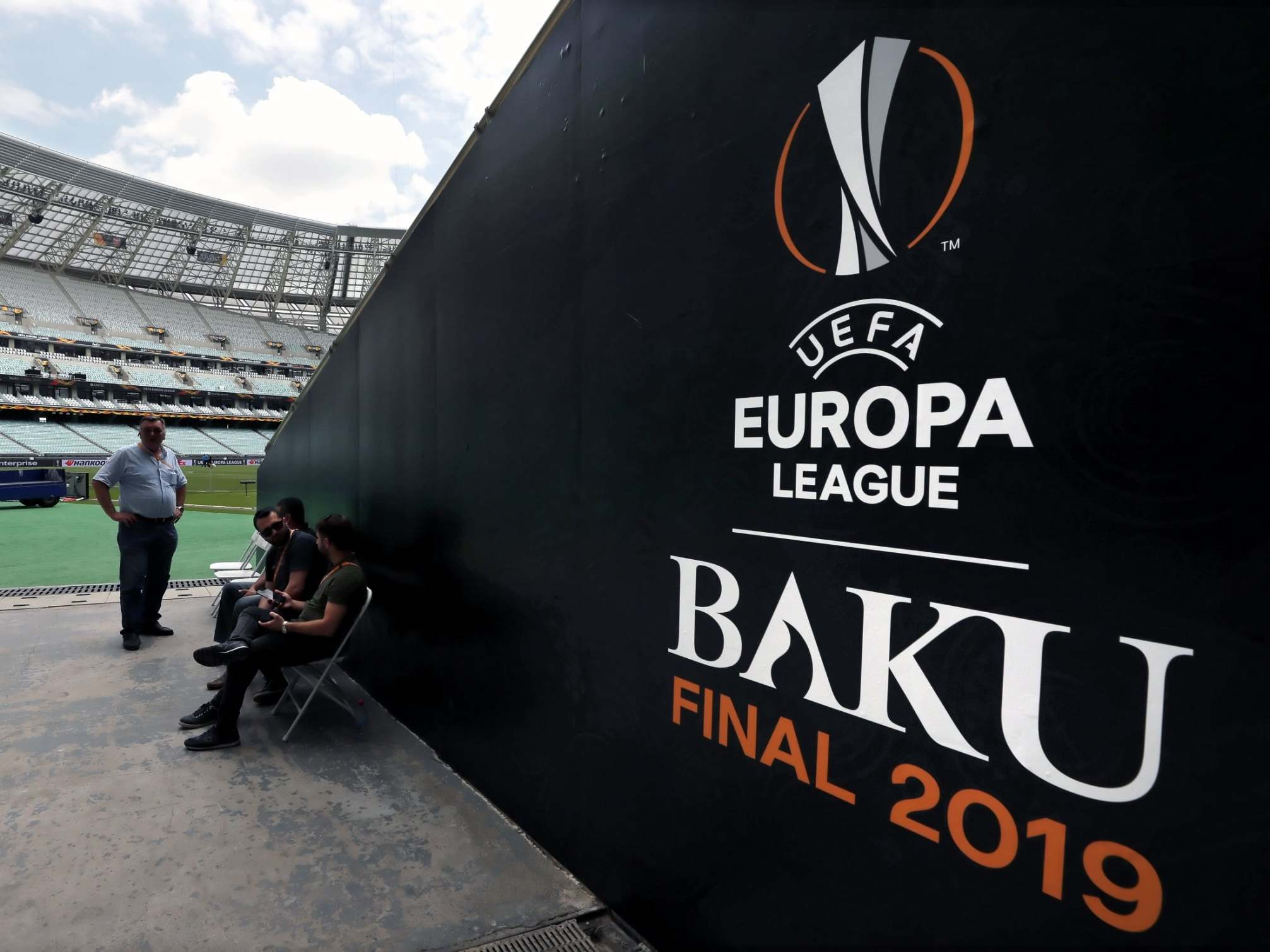 Baku is a serious football trip that demands military