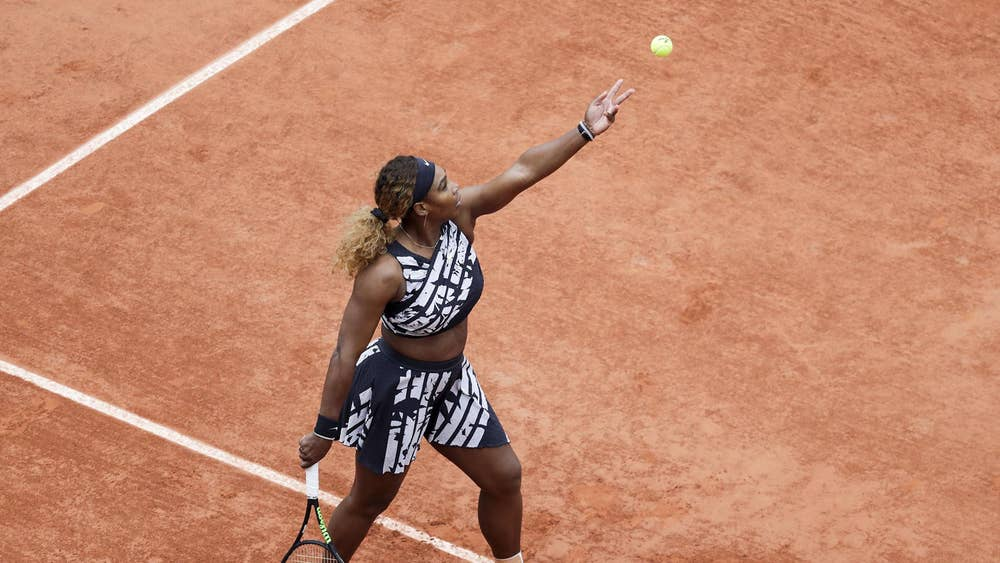 9cbecefc0 French Open 2019: Serena Williams wears Nike outfit designed by ...