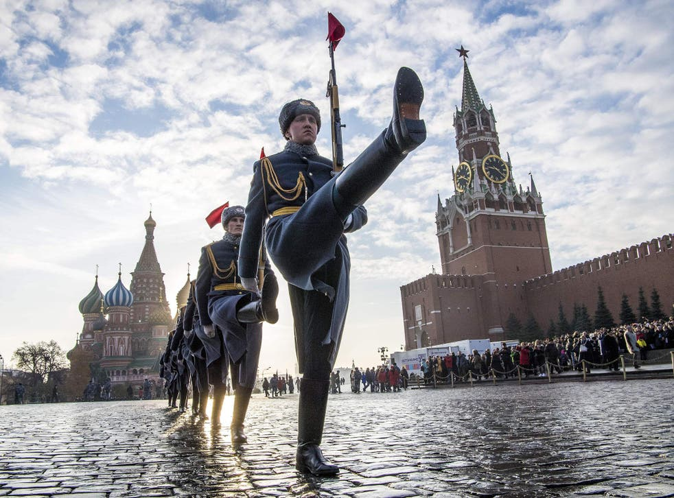 The Kremlin marched into a £33bn budget surplus last year