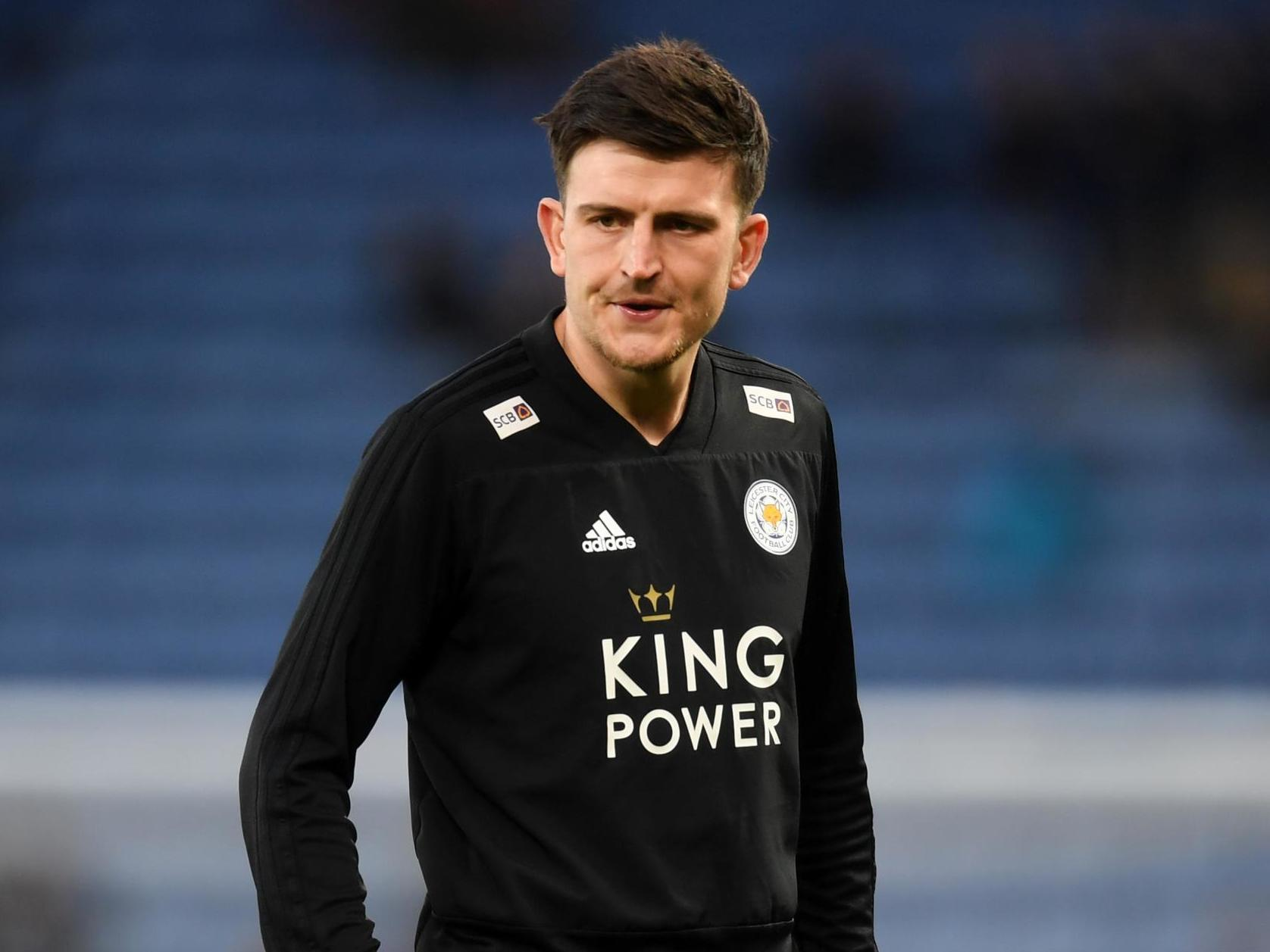 9affcc816 Maguire Relaxed with Man Utd and City Speculation. Manchester United logo