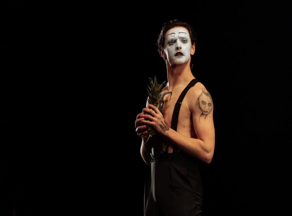 Sergei Polunin in 'Fraudulent Smile' at the London Palladium