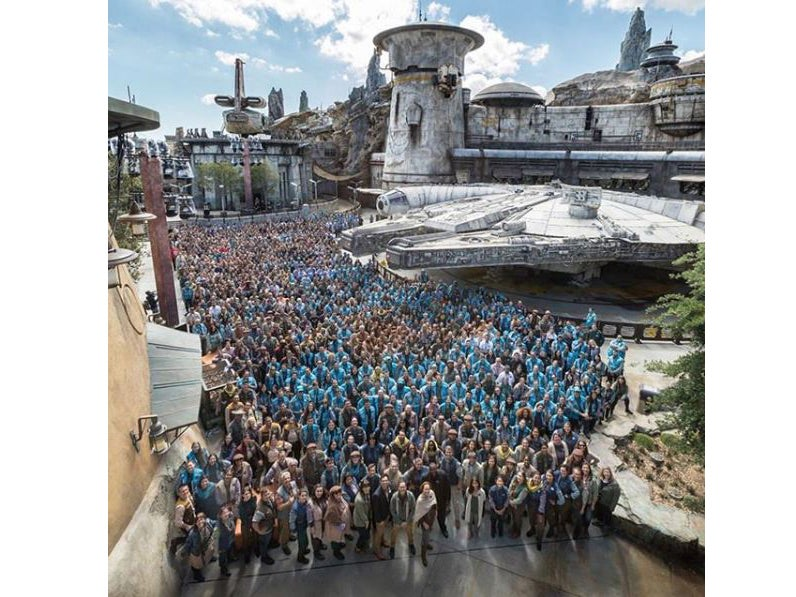 Star Wars: Galaxy's Edge – first look at the new attraction