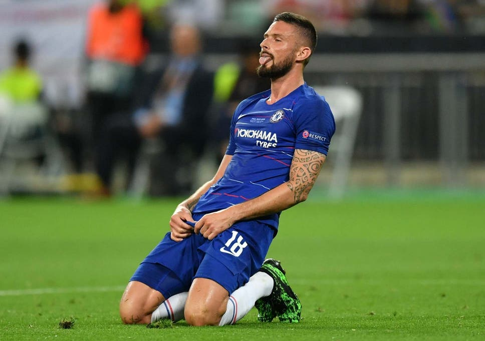 sports shoes a37c2 01841 Chelsea vs Arsenal, Europa League final 2019: Watch Olivier ...