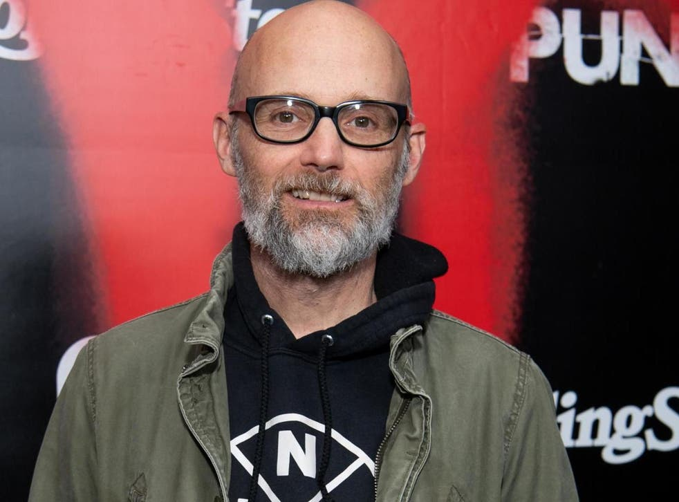 Moby arrives at the premiere of Epix's TV series 'Punk' on 4 March, 2019 in Los Angeles, California.