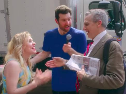 SNL star Kate McKinnon tricks public into thinking she's Reese Witherspoon in Big Little Lies-themed Billy on the Street