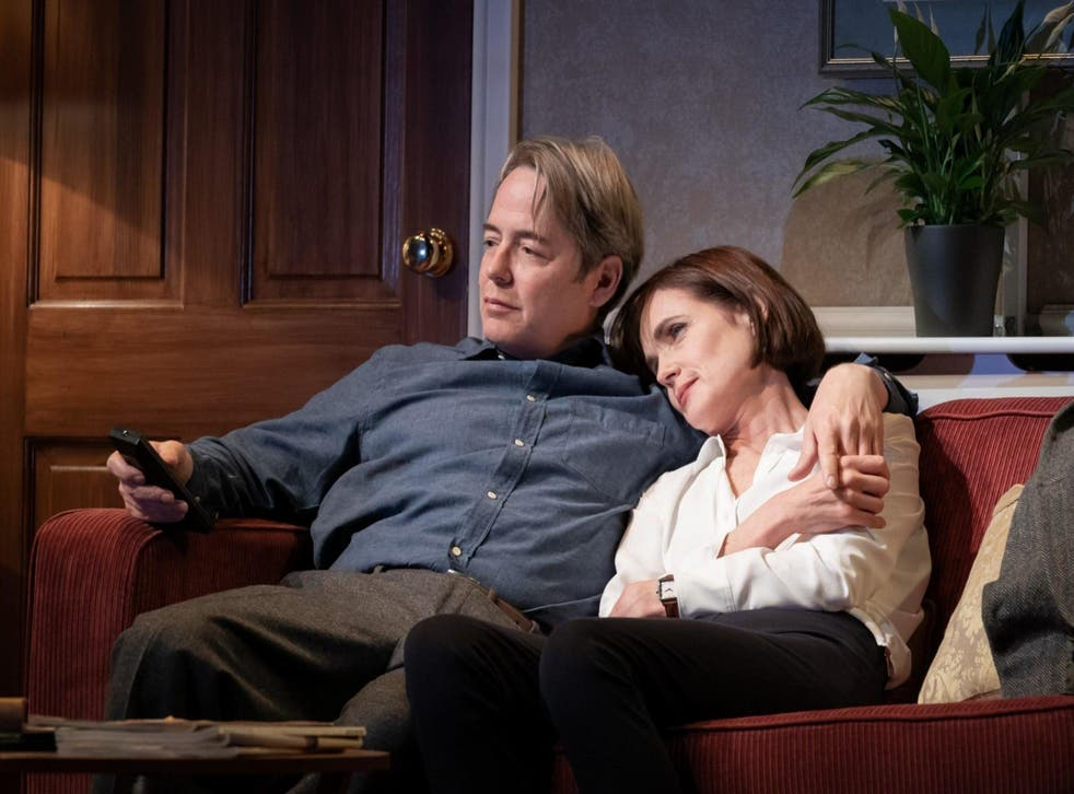 Matthew Broderick and Elizabeth McGovern in 'The Starry Messenger'