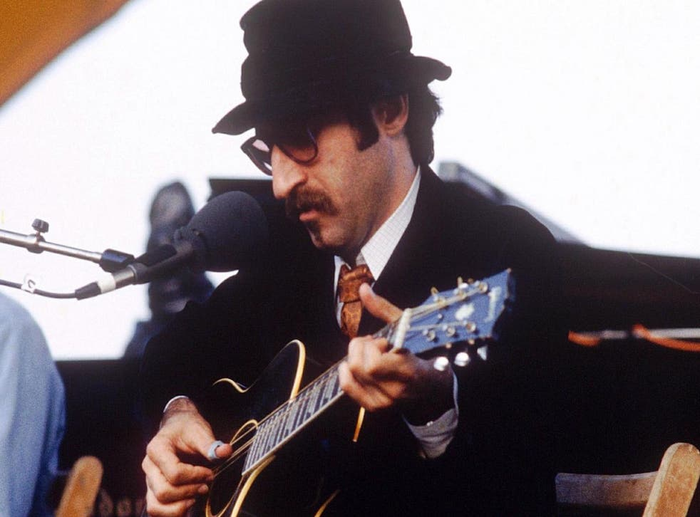 Leon Redbone, who died on Thursday, 30 May, at the Capital Jazz Festival in London, in 1979.