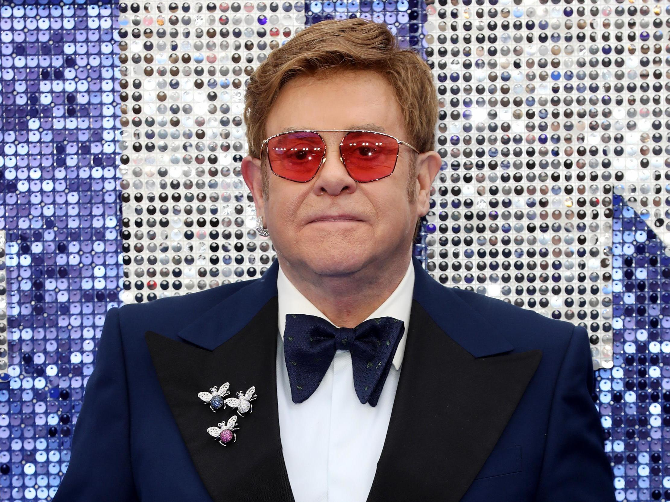 Elton John Christmas Outfit.Elton John Latest News Breaking Stories And Comment The