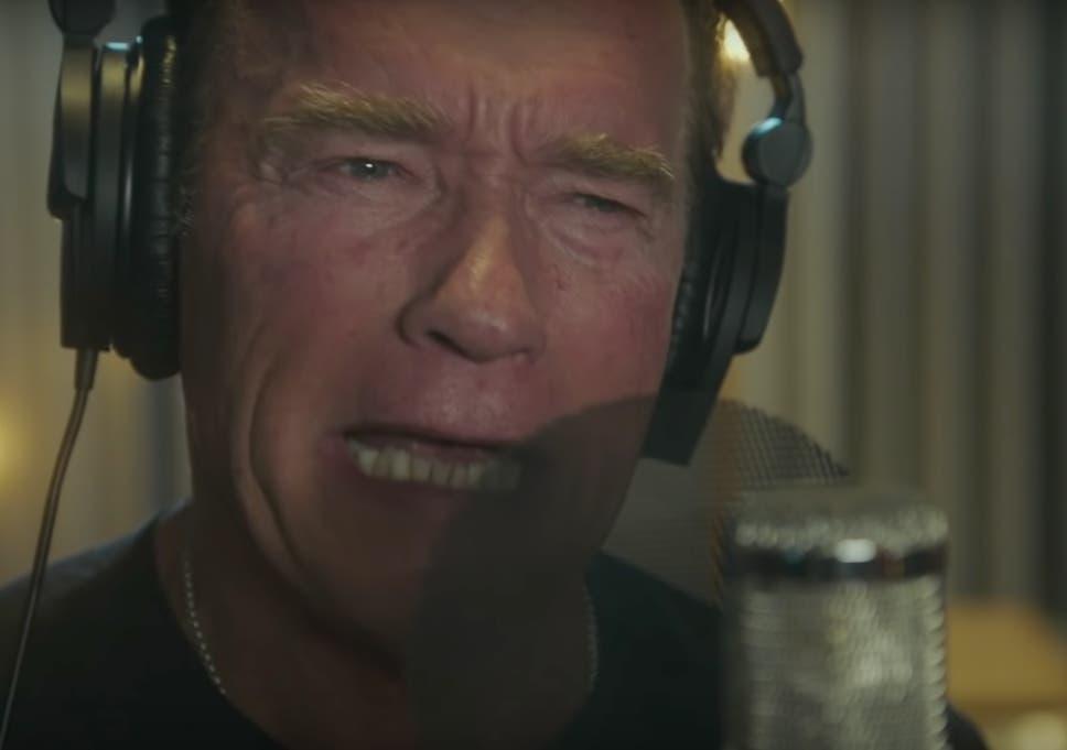 Arnold Schwarzenegger makes rapping debut on new song 'Pump
