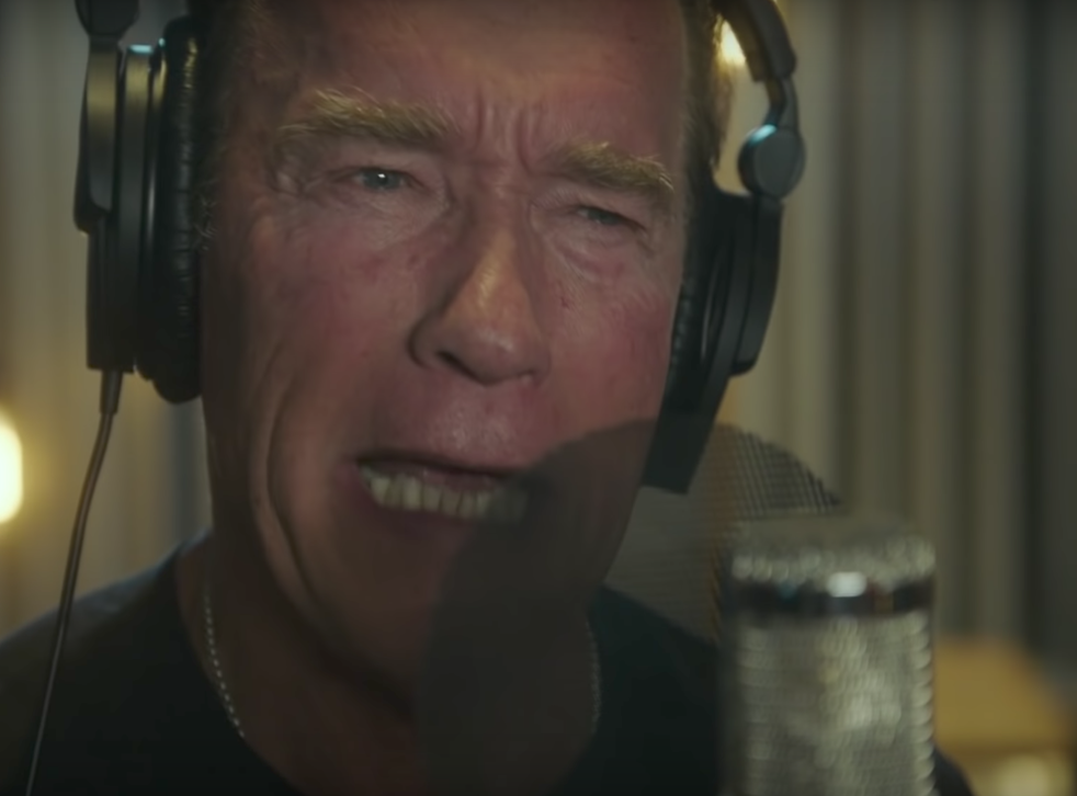 'My name is Arnold Schwarzenegger and I'll be back'