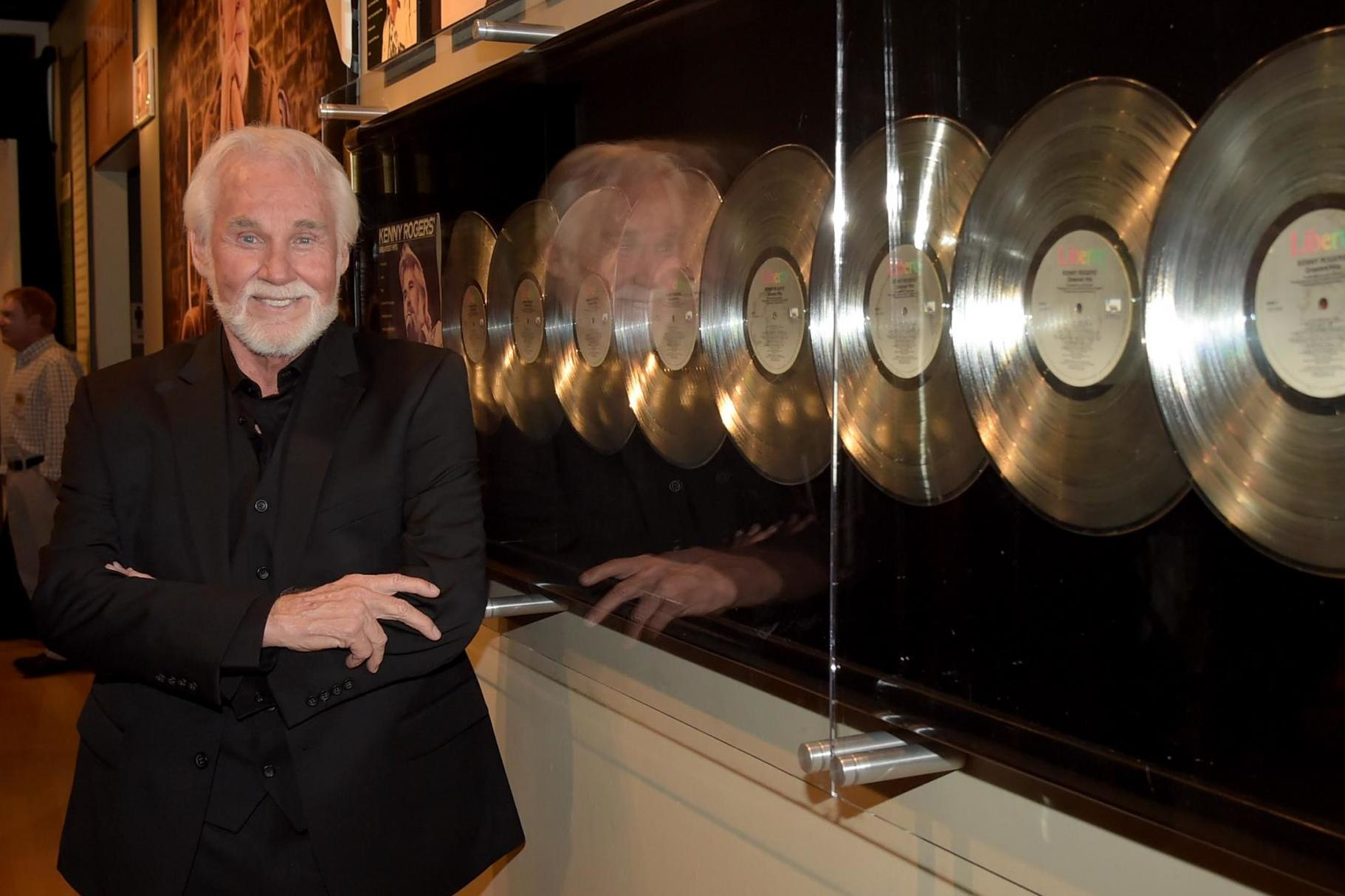 Kenny Rogers admitted to hospital and treated for dehydration