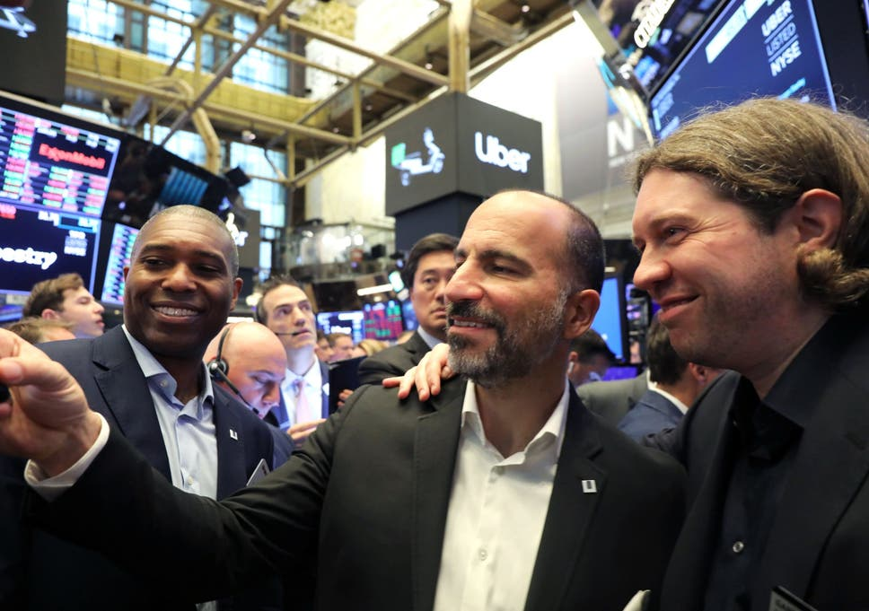 Uber posts $1bn loss, weeks after stock market float | The