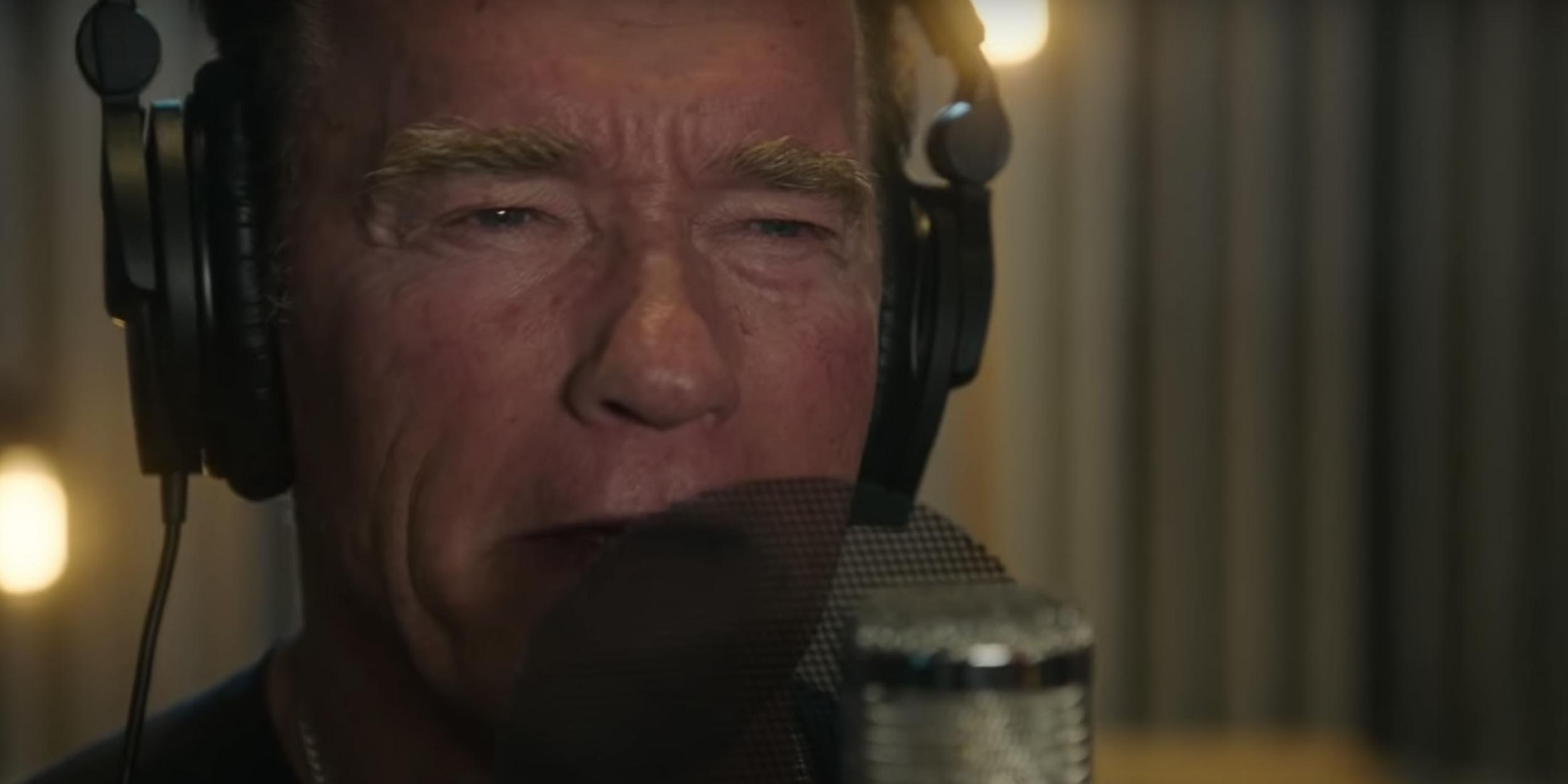 Arnold Schwarzenegger just dropped a rap song