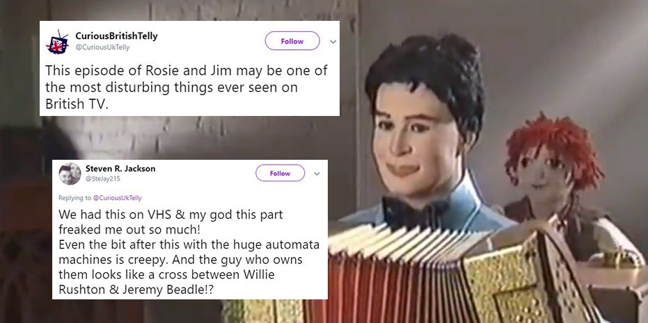 A clip from 'Rosie and Jim' has gone viral because it is so