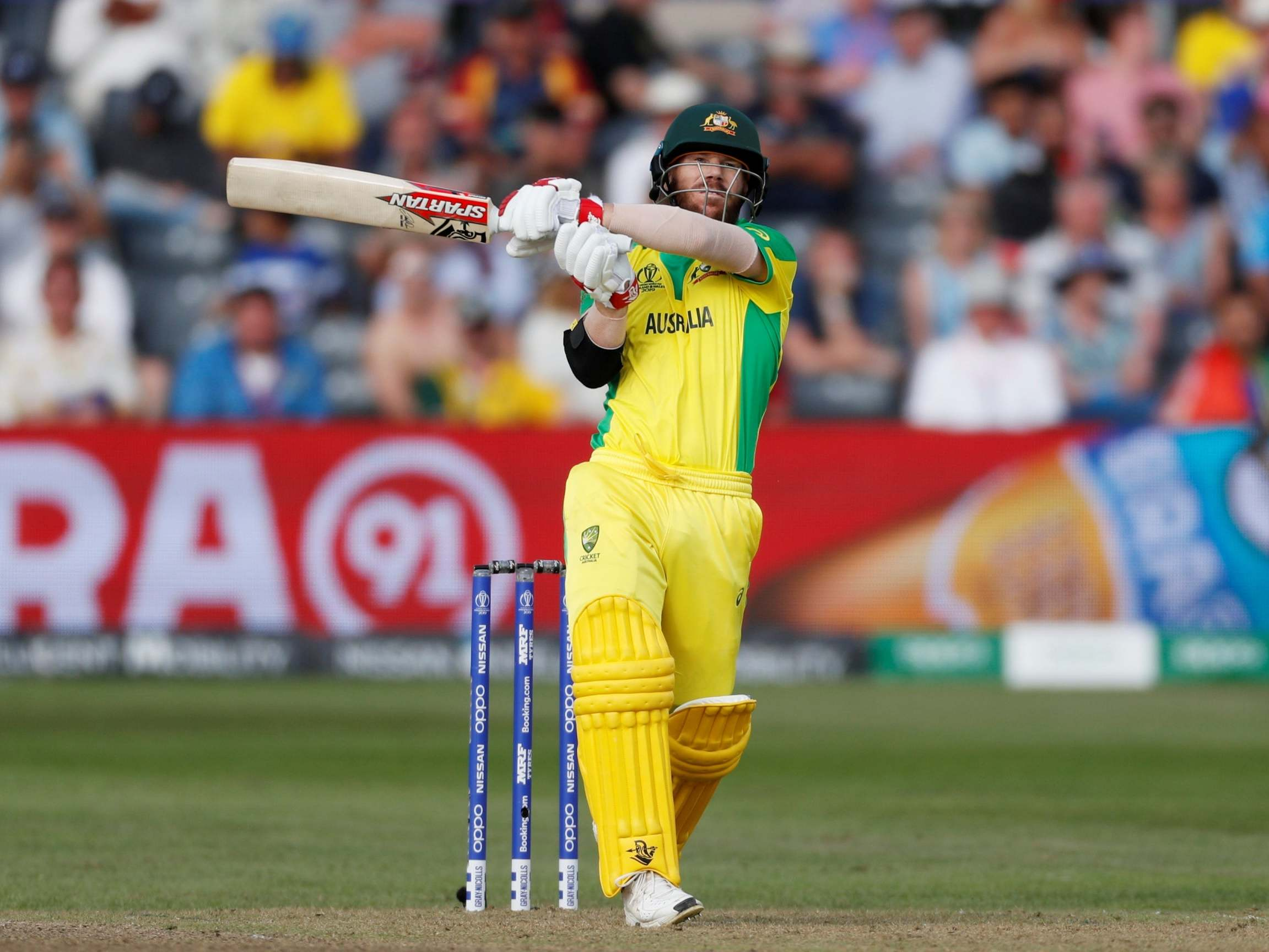 Cricket World Cup 2019 English Crowds Stupid To Jeer