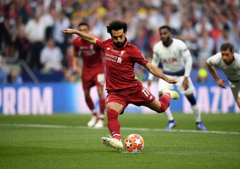 Mohamed Salah Goal Champions League Final