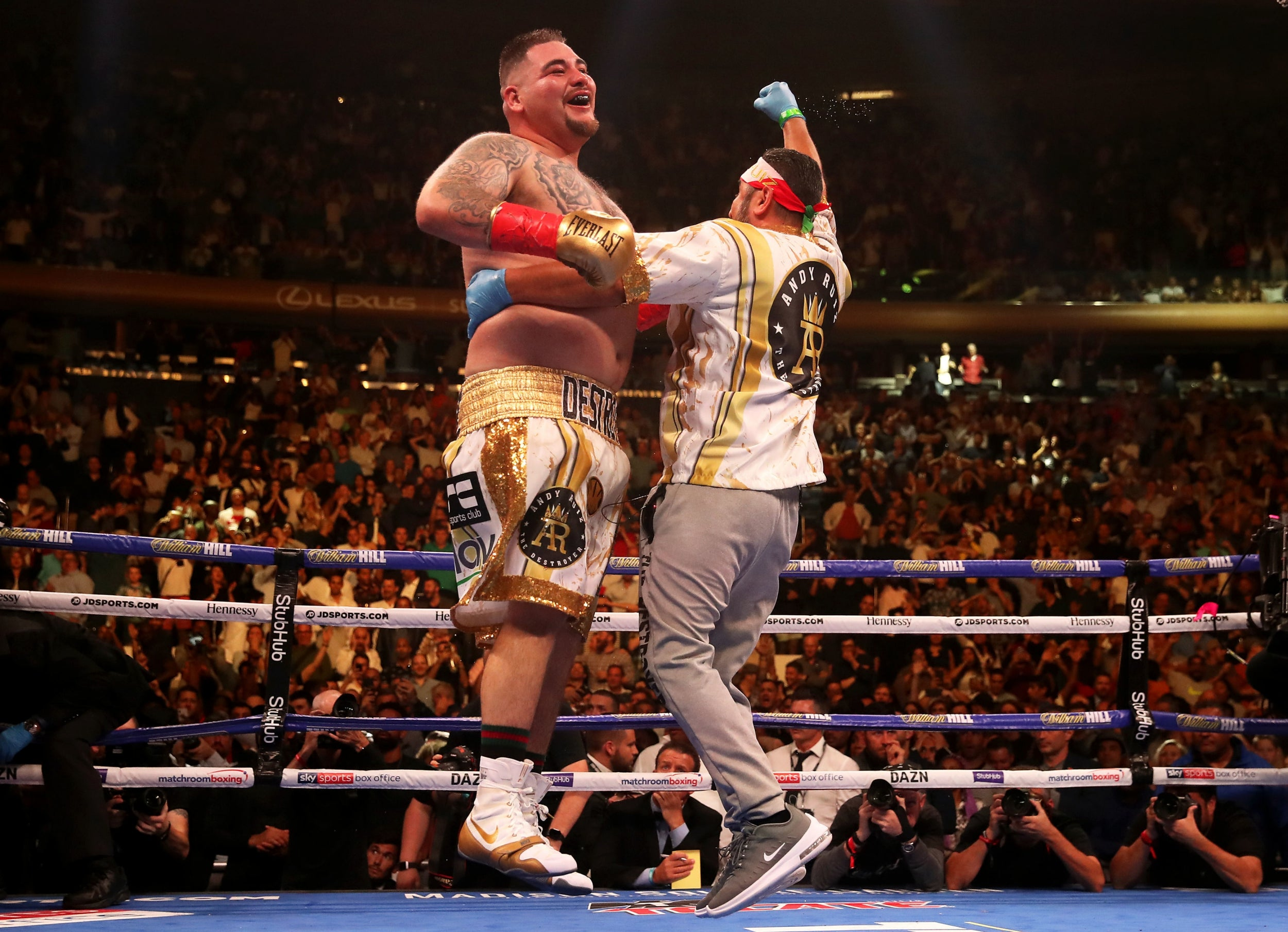 Anthony Joshua vs Andy Ruiz: UK broadcasting rights in danger after