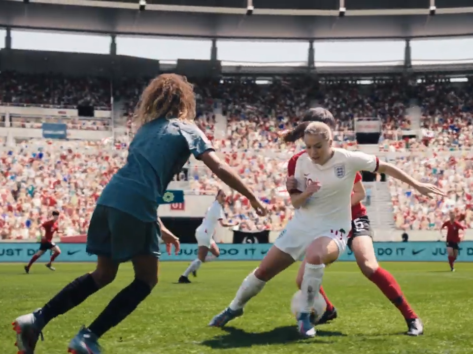 fantastic savings delicate colors beauty Nike releases empowering football advert ahead of Fifa ...