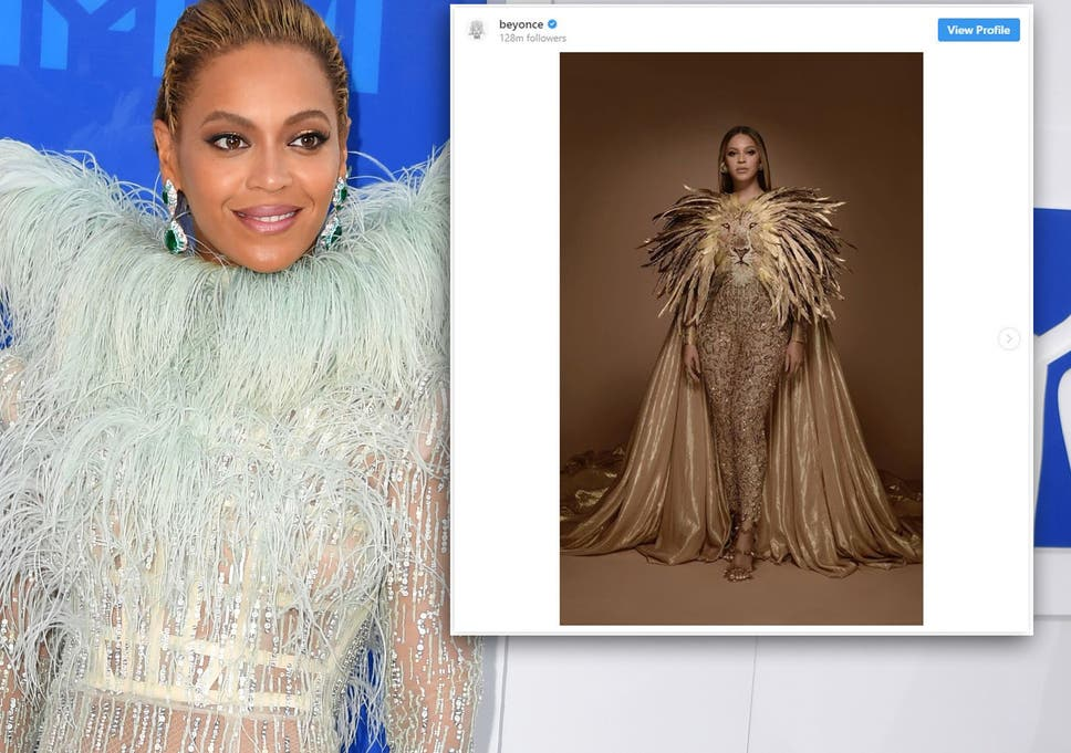 Beyoncé wears gold Lion King-inspired outfit for Wearable Art Gala