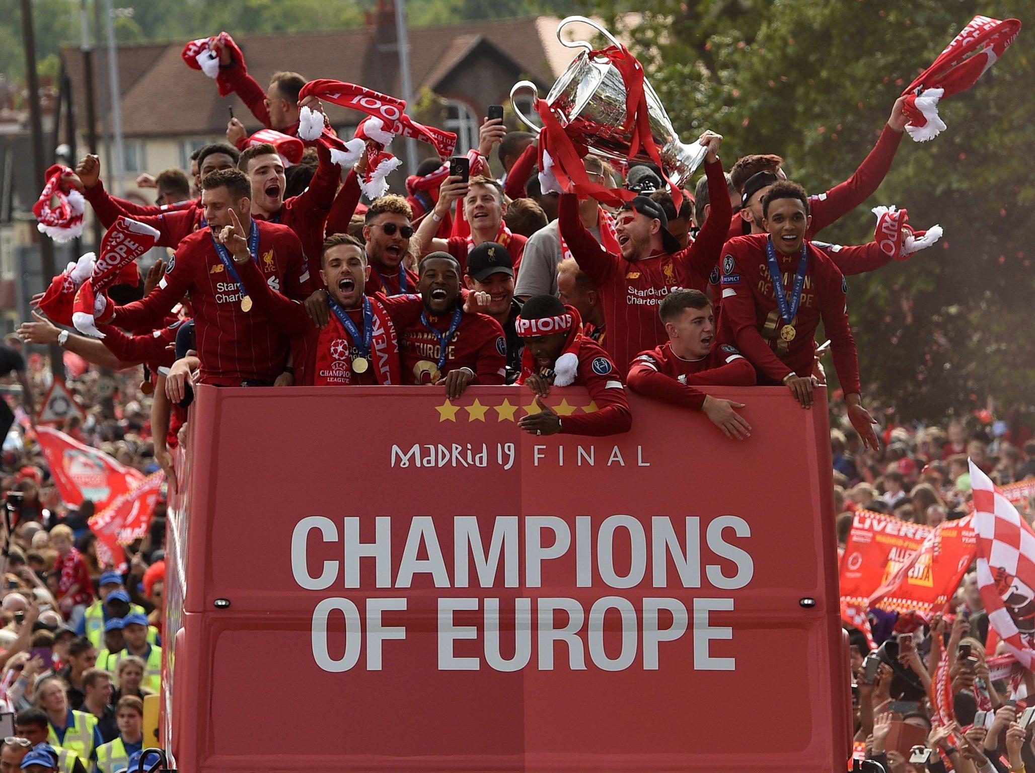 ผลการค้นหารูปภาพสำหรับ liverpool champions league 6 times