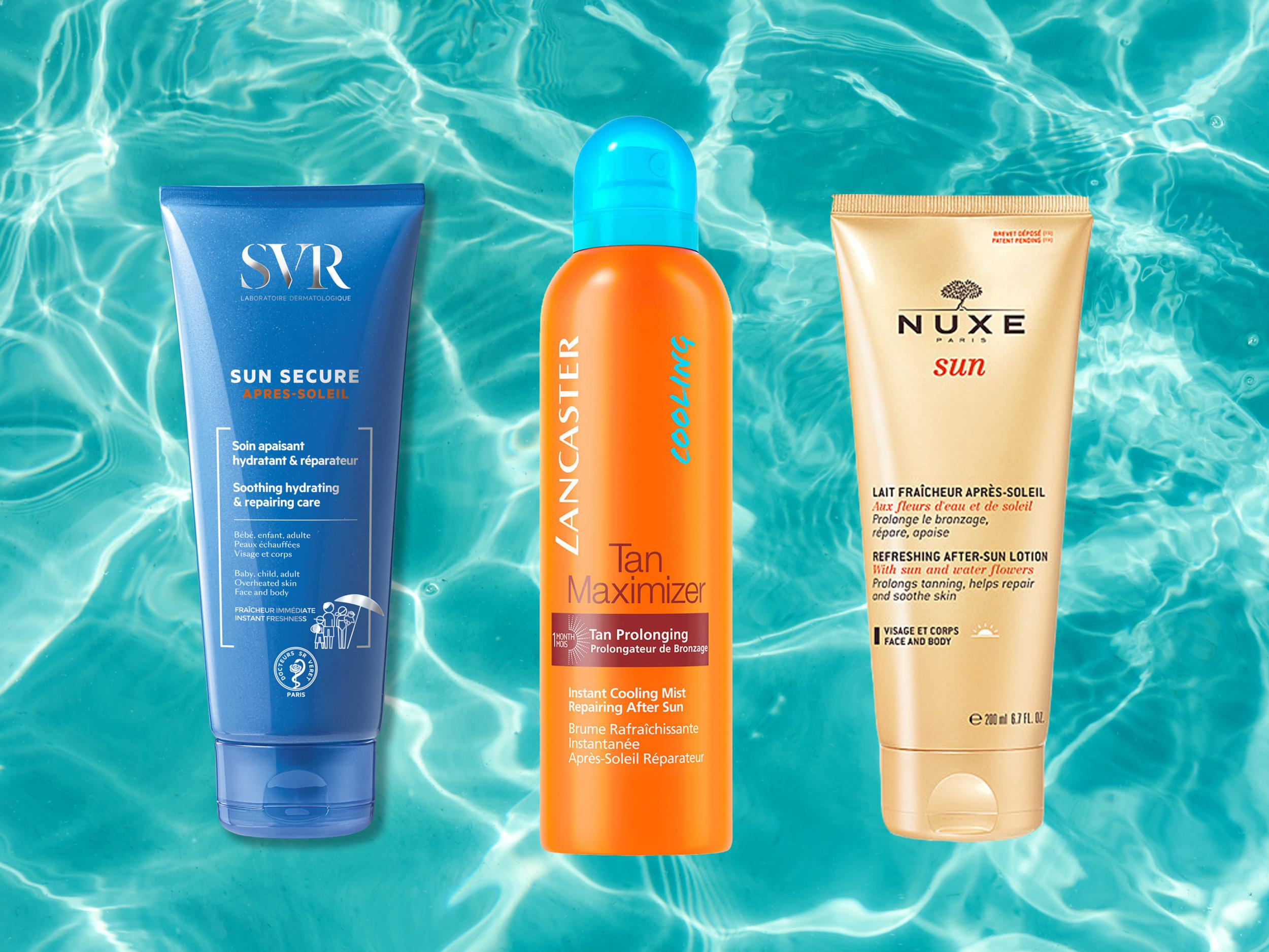 Best after-sun products to treat sunburn and keep skin hydrated and