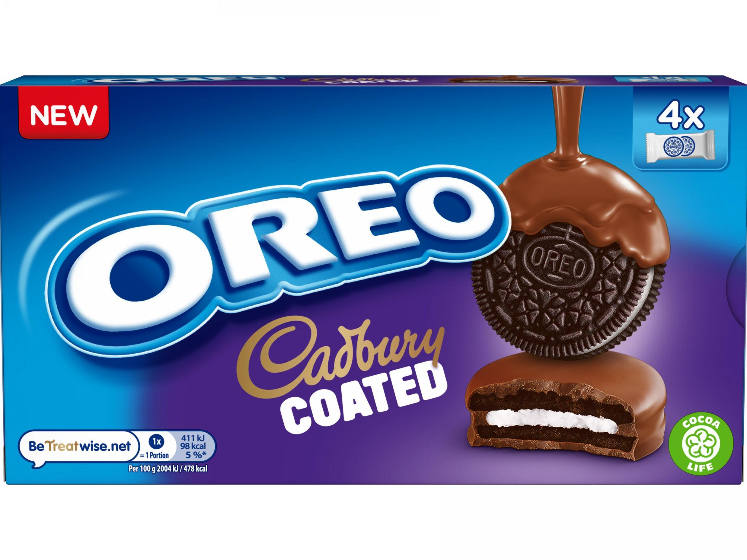 Oreo launches cookie coated in Cadbury chocolate 1