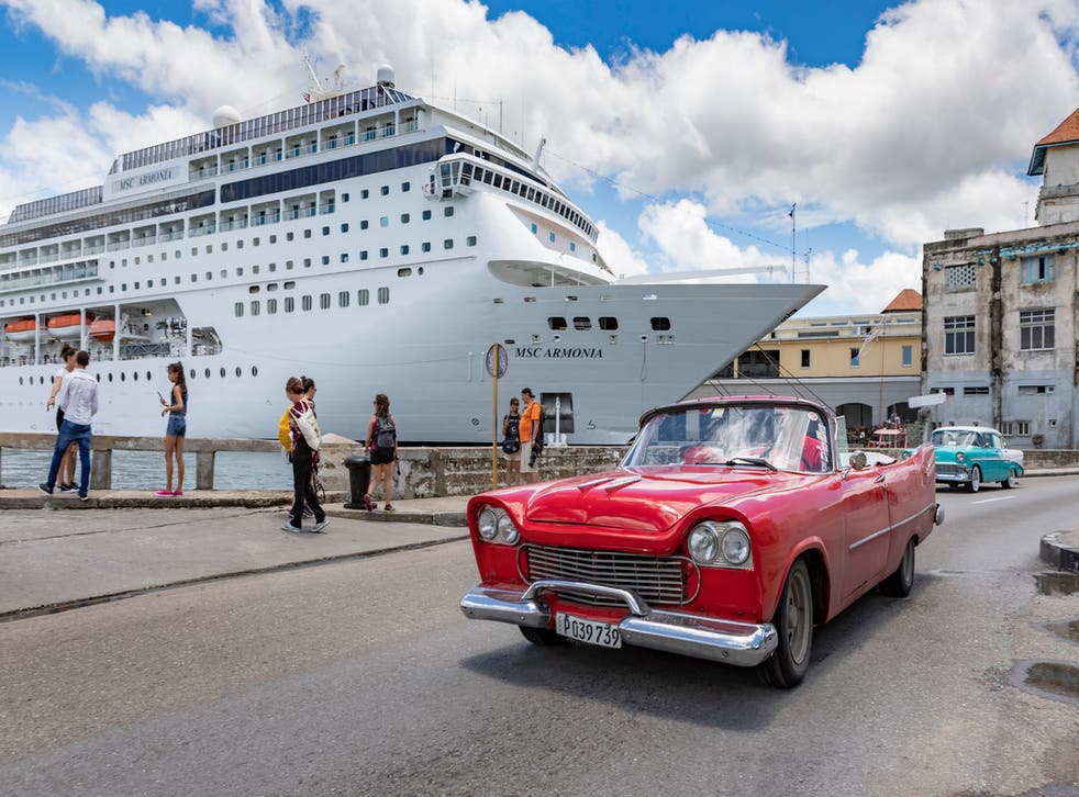 Cruising is the most popular form of travel for Americans going to Cuba