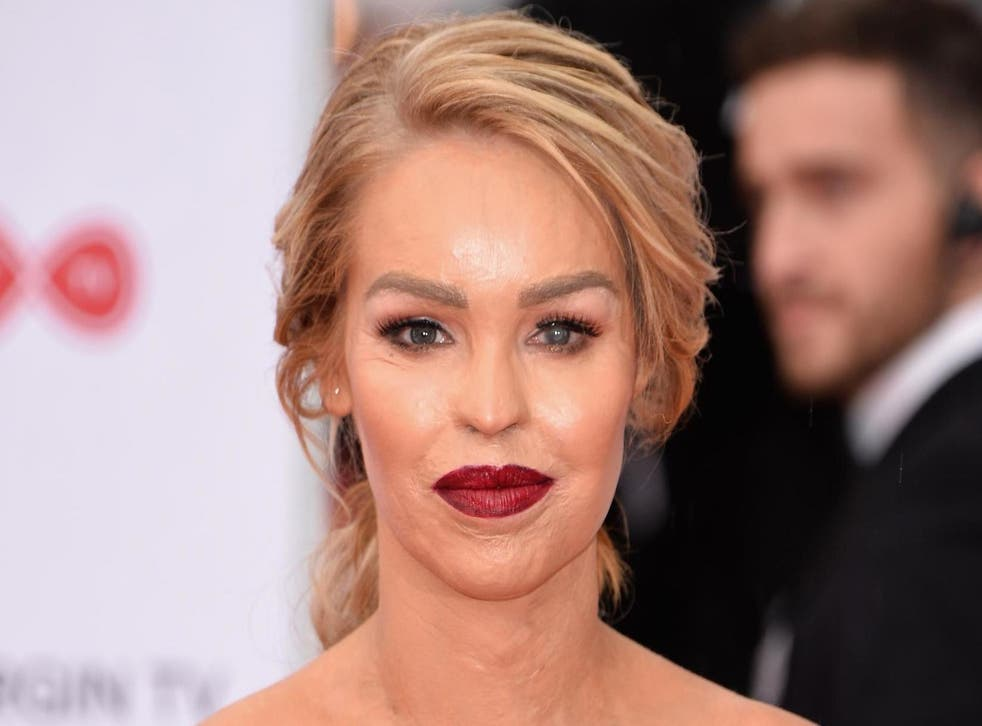 Katie Piper attends the Virgin TV BAFTA Television Awards at The Royal Festival Hall on May 14, 2017 in London, England.