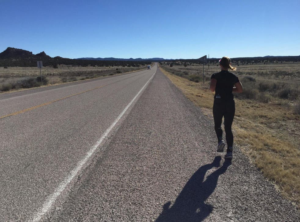 Data was gathered from runners in the 3,080-mile Race Across the USA