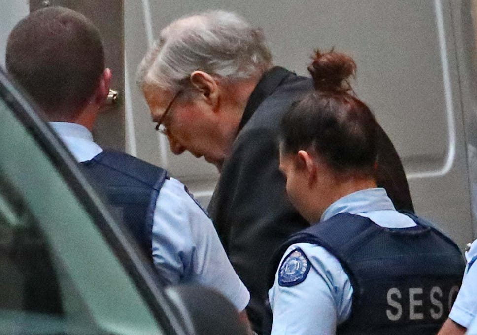Cardinal George Pell appears in court to appeal convictions for