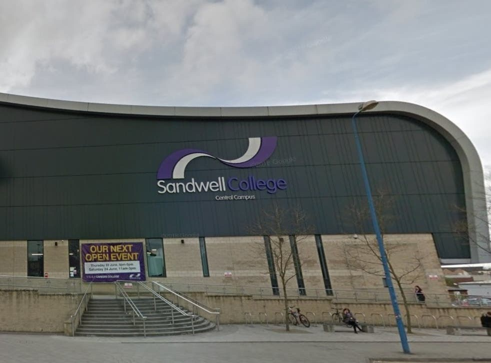 A lecturer has reportedly been dismissed from Sandwell College after writing 'racist' on Prevent poster