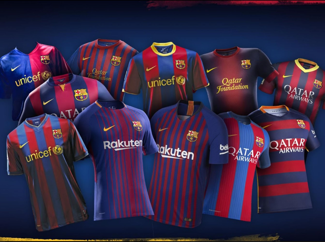 Fc Barcelona Fans Vote On Their Favourite Kit From The Past 11 Seasons The Independent The Independent