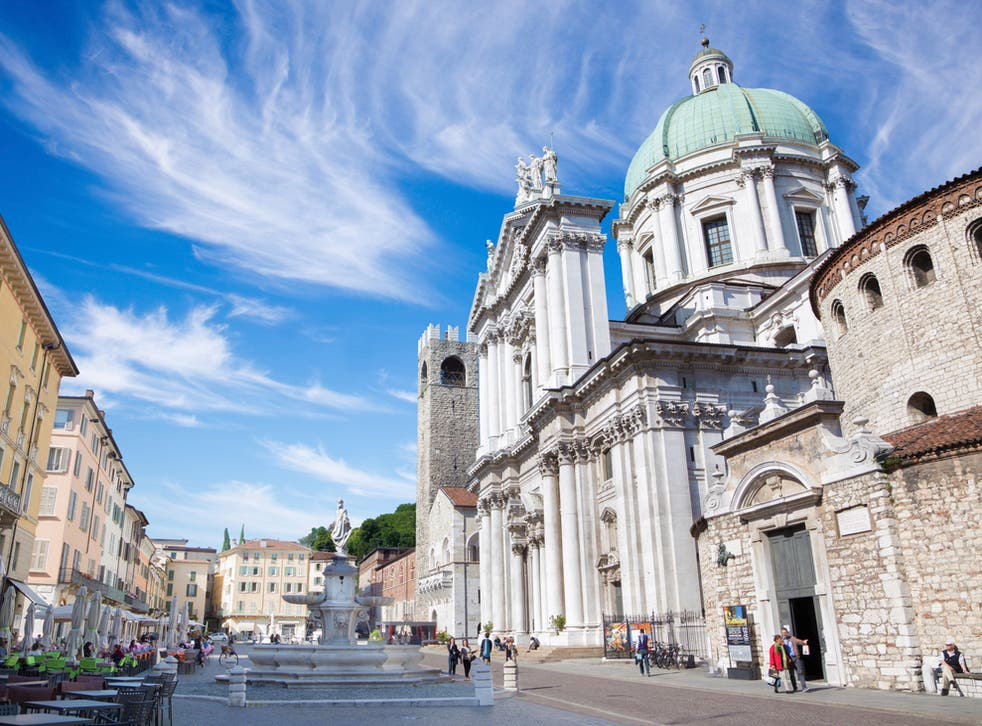 Duomo Nuovo (New Cathedral) is Brescia's largest Roman Catholic church