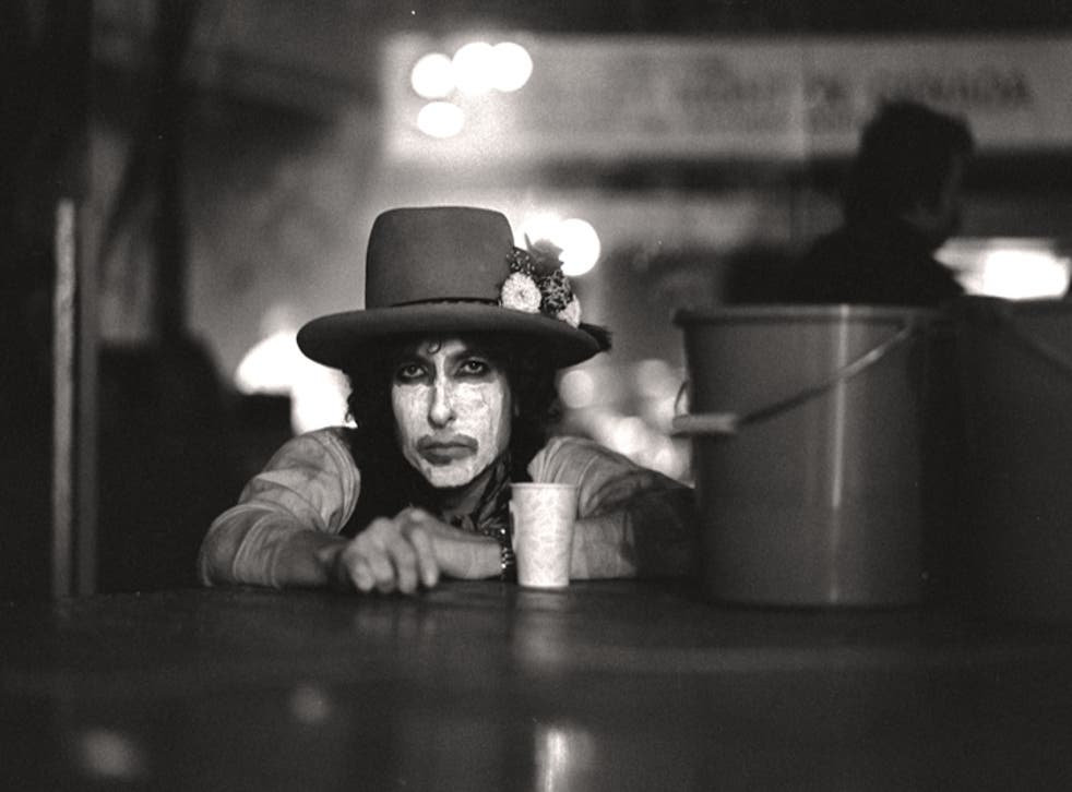 Ringmaster: the songwriter wanted a travelling circus format that would turn the conventional rock tour on its head