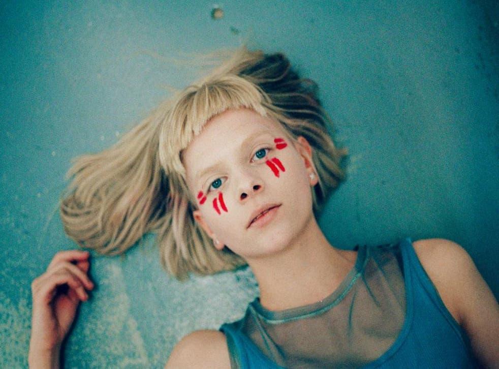 Norwegian pop artist Aurora