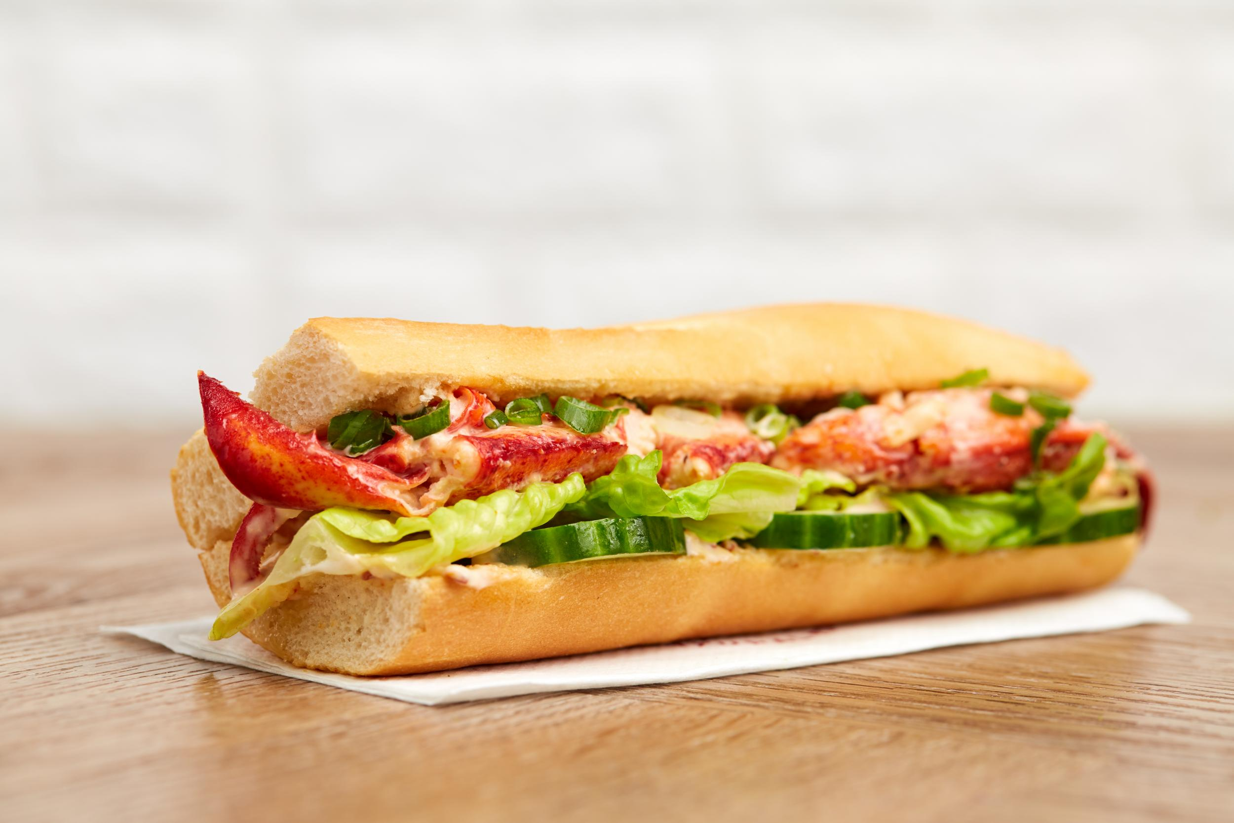 Food chain to launch limited-edition lobster roll 1