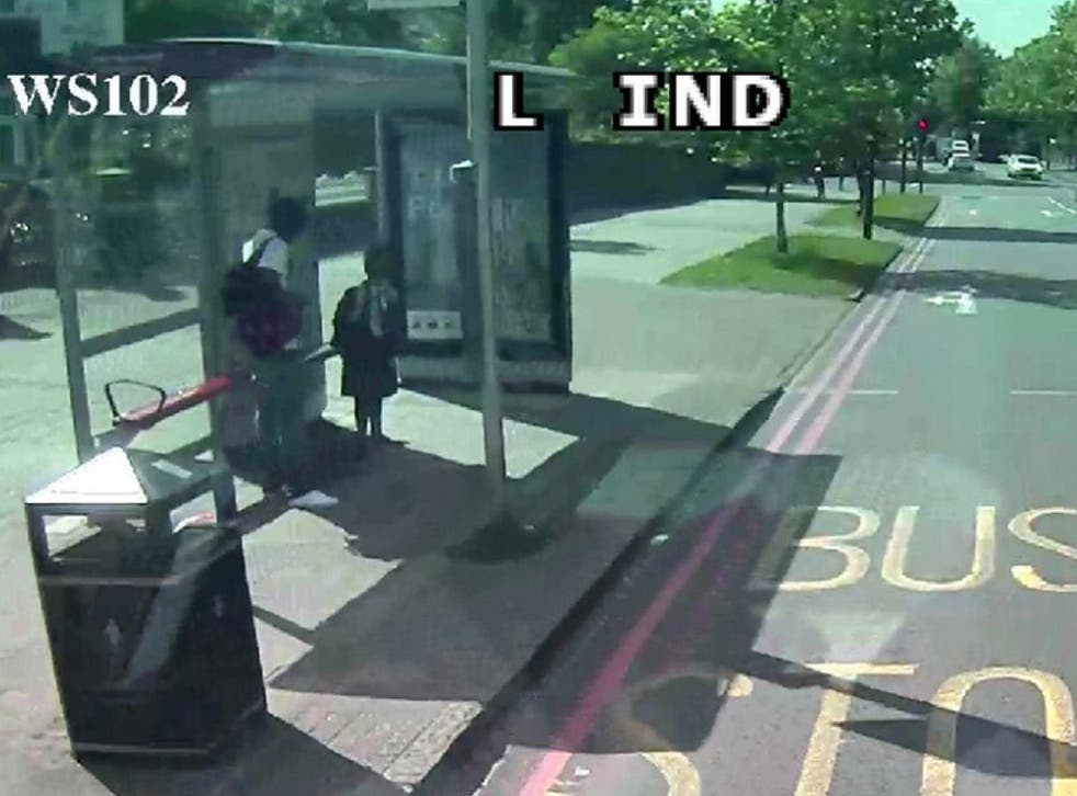 Police are hunting for man who tried to lure a 10-year-old schoolgirl onto a bus with him on Poynders Road, in Clapham, southwest London, at about on 21 May 2019.
