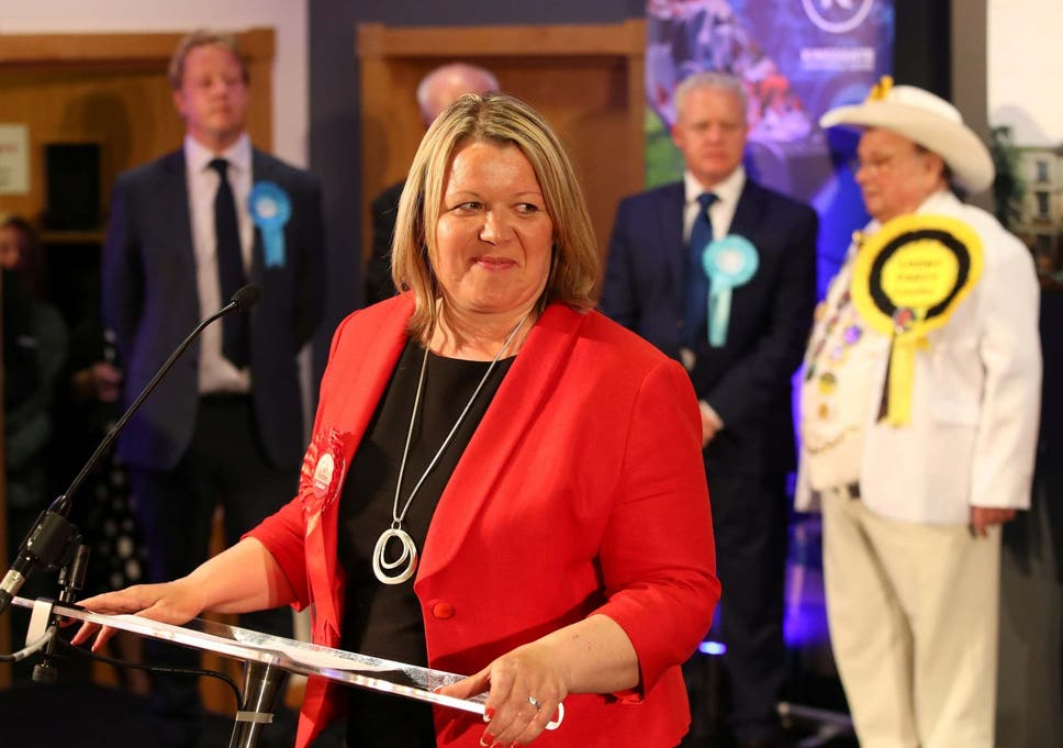 1248d53695a5 Labour Party candidate Lisa Forbes won with a majority of 683 over the  Brexit Party