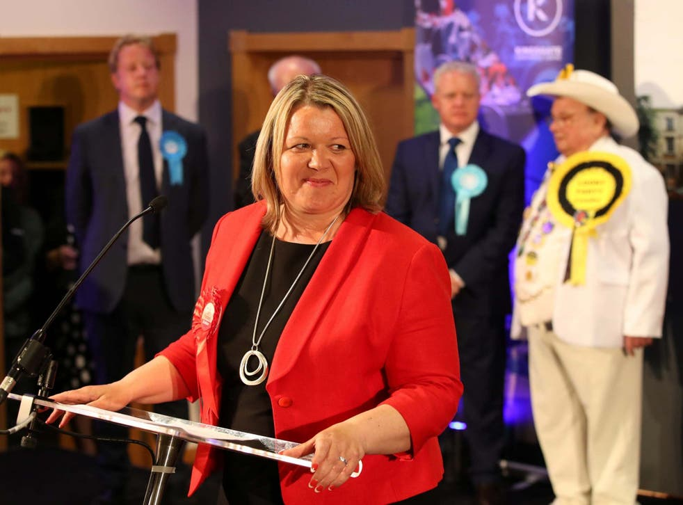 Labour Party candidate Lisa Forbes won with a majority of 683 over the Brexit Party