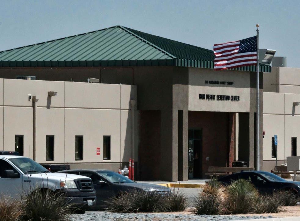 The Adelanto Detention Center in California
