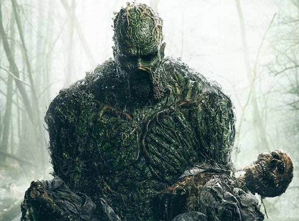 <p>Swamp Thing strikes a classic pose</p>