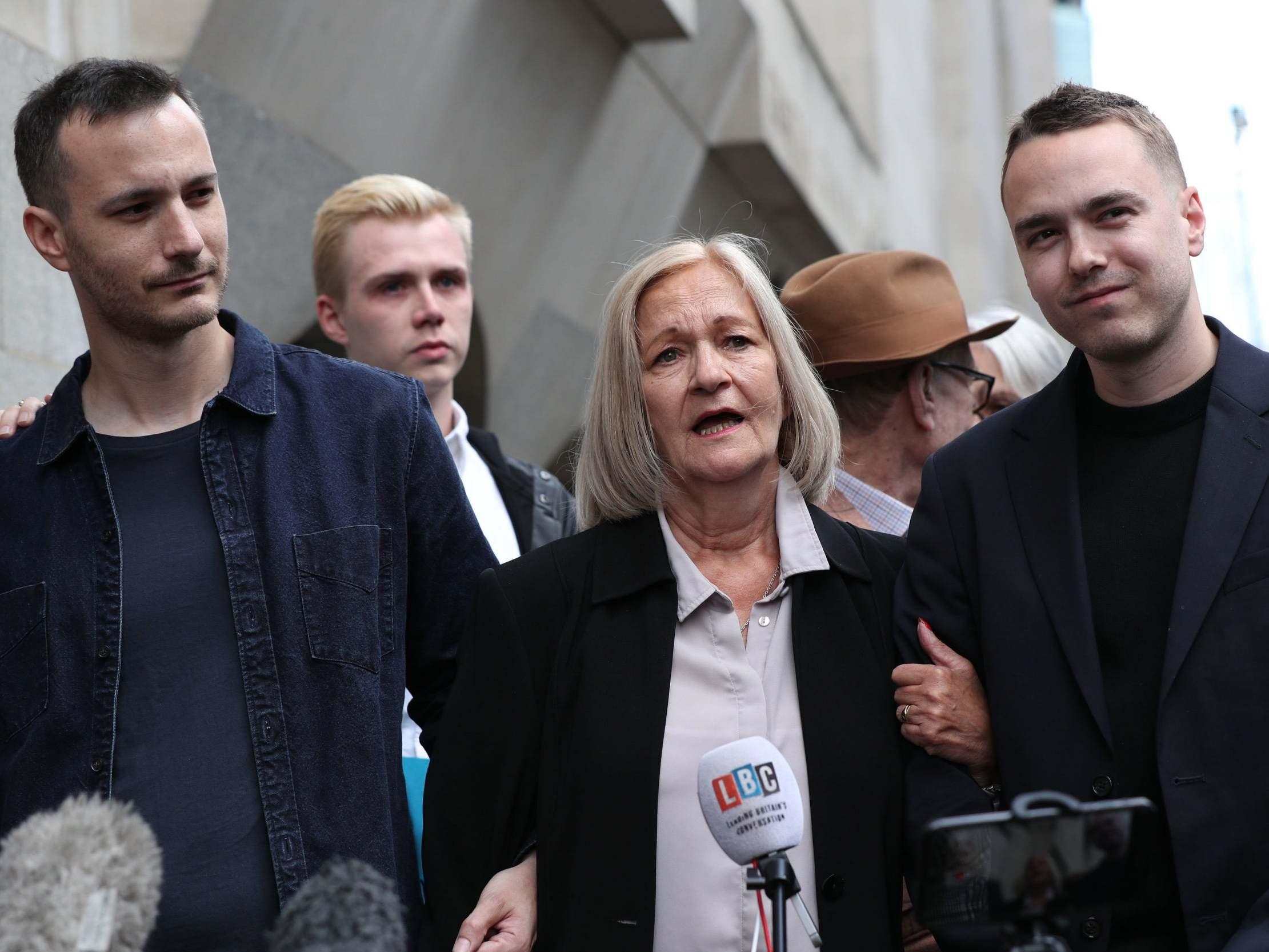 Domestic abuse survivor jailed for killing abusive husband says he r…