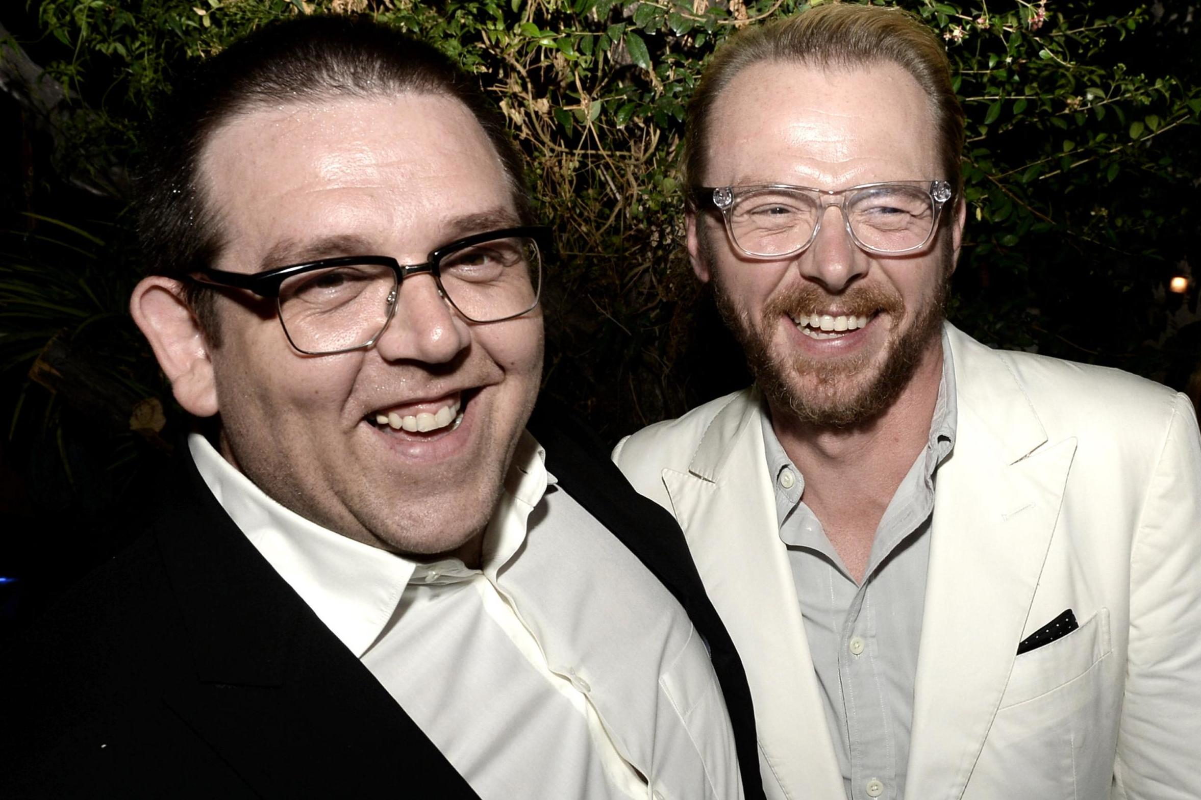 Simon Pegg and Nick Frost to produce serial killer film titled Svalta