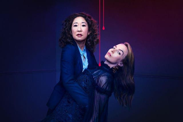 Oh (left) has previously denied that there is any romantic element to Eve and Villanelle's obsessive relationship