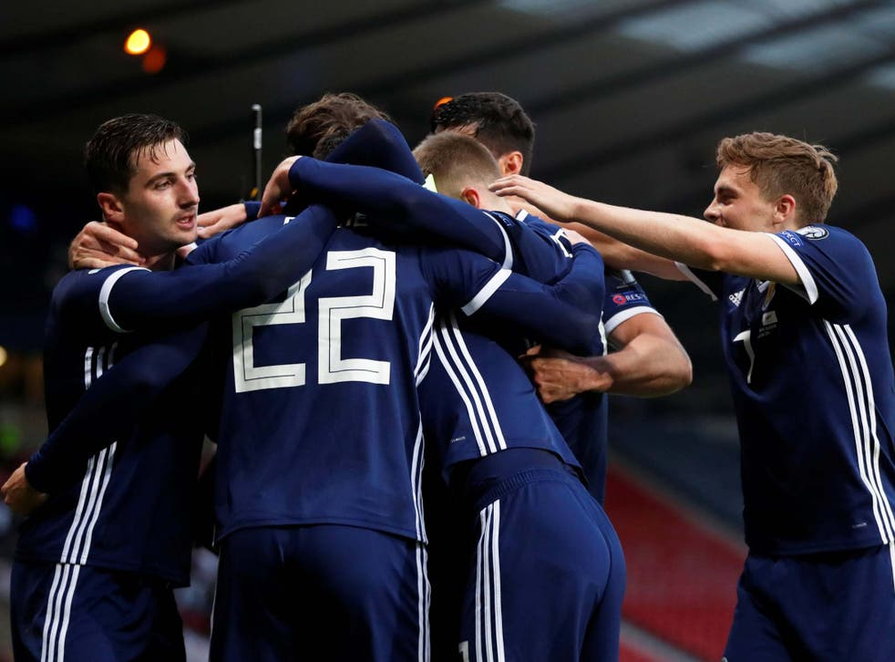 Scotland struck late to beat Cyprus