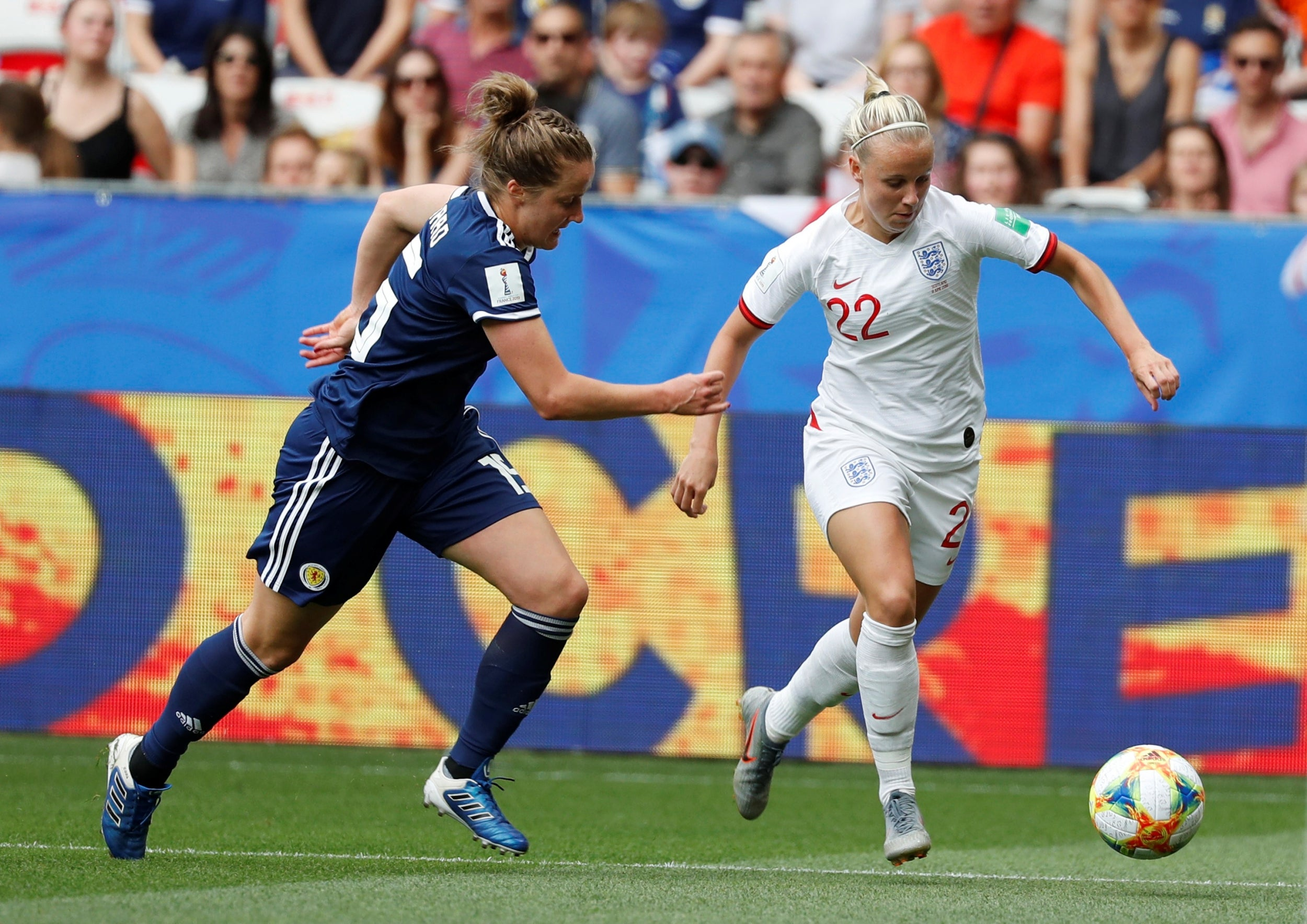 England forward Beth Mead sees Germany clash as chance to 'keep people hooked' on women's football