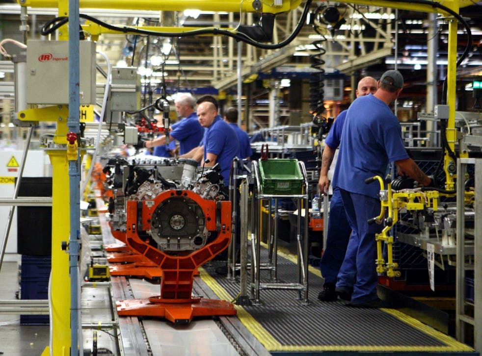Car manufacturing in Britain is in the midst of a slump